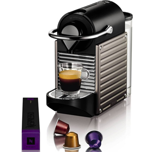 Krups Nespresso XN300540 Pixie Coffee Machine